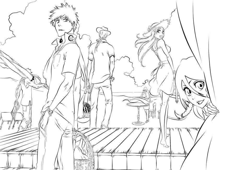 900x651 Bleach Coloring Pages,wallpapers,pictures I Want To Color
