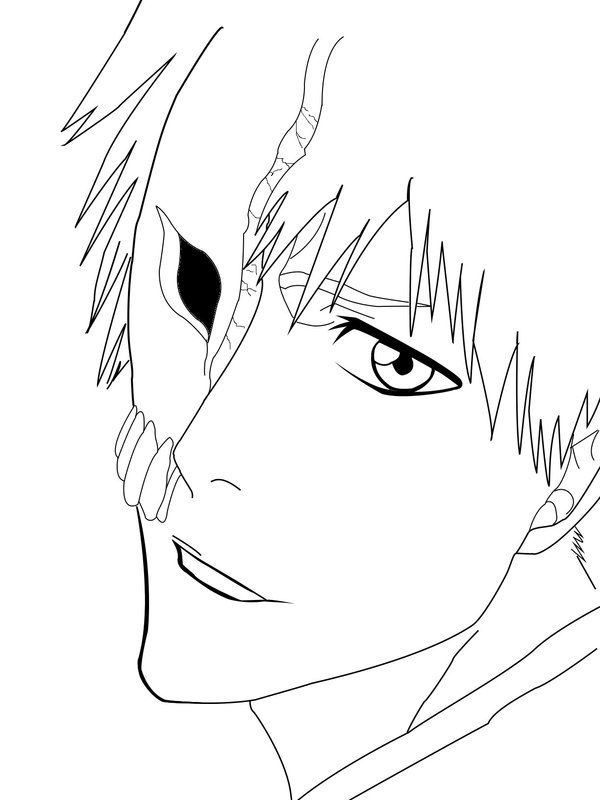 600x800 Bleach Coloring Page Bleach