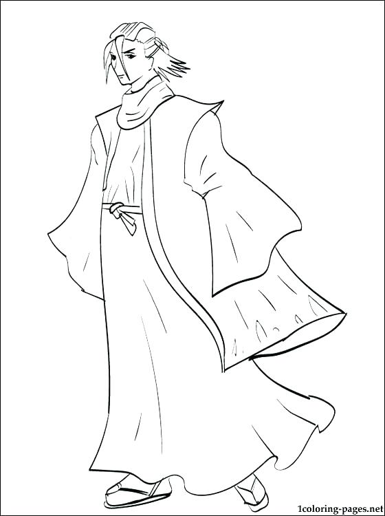 560x750 Bleach Coloring Pages Bleach Coloring Pages Bleach Coloring Page