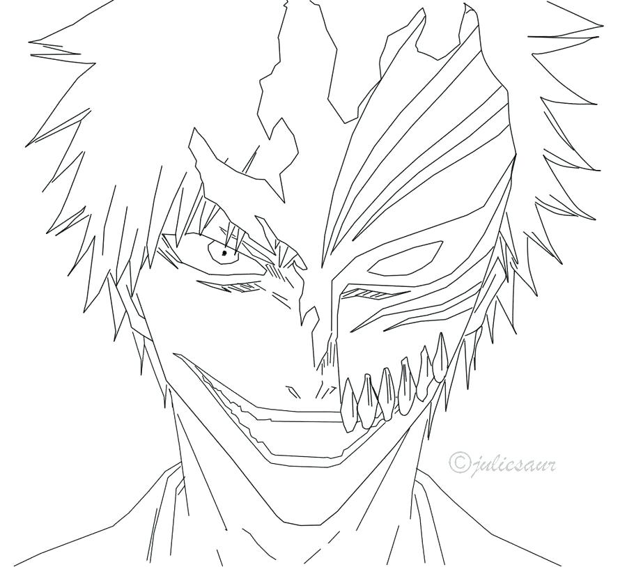 900x814 Bleach Coloring Pages Bleach Coloring Pages To Pretty Page Chibi
