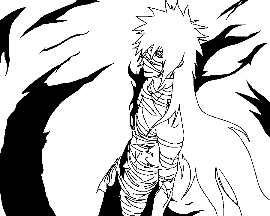 Bleach Ichigo Coloring Pages