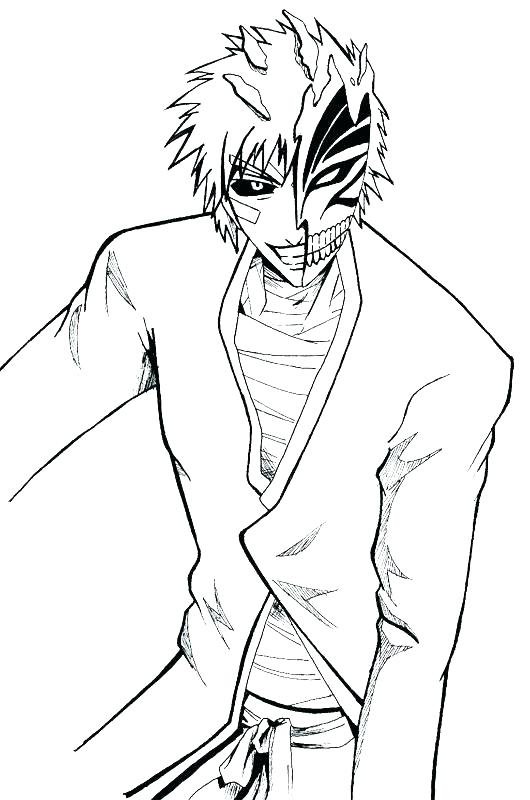 530x800 Extraordinary Bleach Coloring Pages Bleach Coloring Pages Amazing