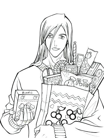 363x480 Best Bleach Coloring Pages Images On Bleach Coloring Who Want Some