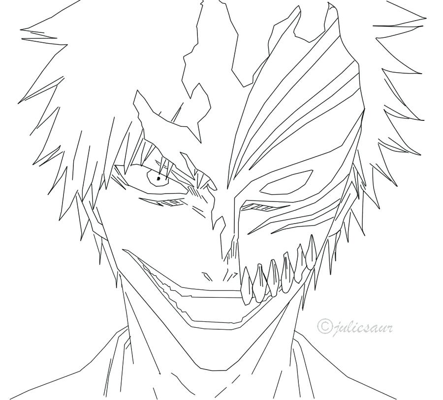 900x814 Ichigo Coloring Pages Bleach Coloring Pages Ichigo Bltidm Ideas
