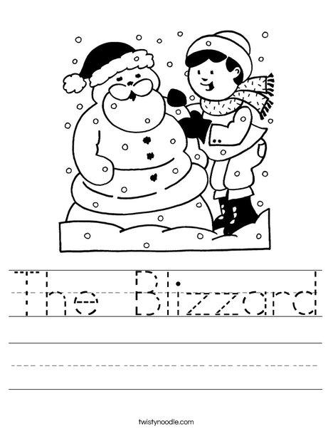 468x605 The Blizzard Worksheet