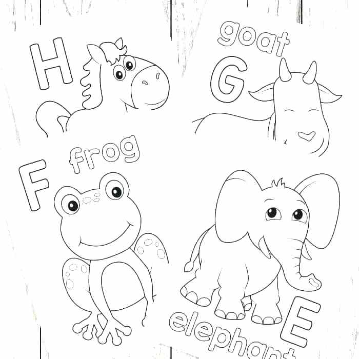 700x700 Alphabet Blocks Coloring Pages Toys And Blocks Coloring Page