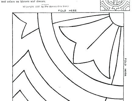440x330 Quilt Pattern Coloring Pages Free Printable Quilt Block Patterns