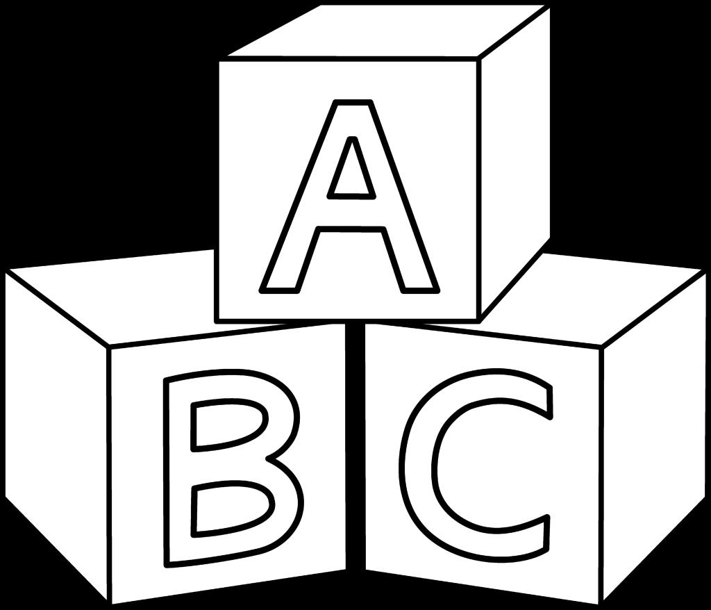 1024x878 Alphabet Blocks Coloring Pages