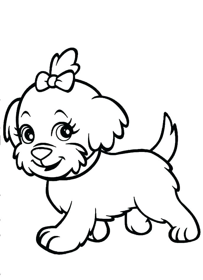 687x947 Bloodhound Coloring Pages