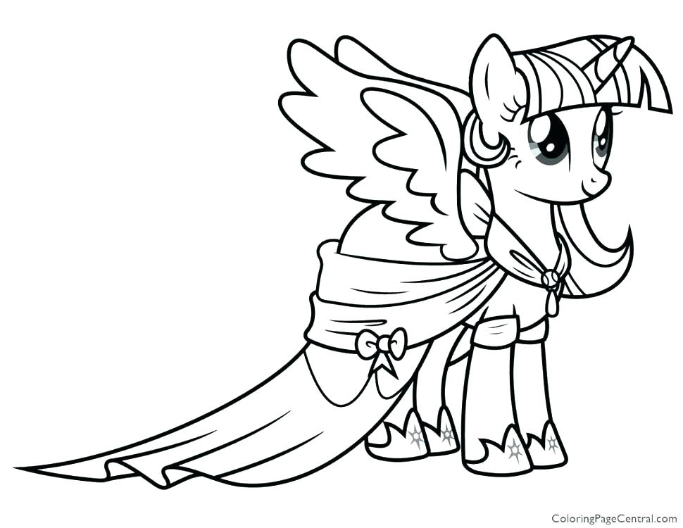 970x750 My Little Pony Apple Bloom Coloring Pages Twilight Sparkle