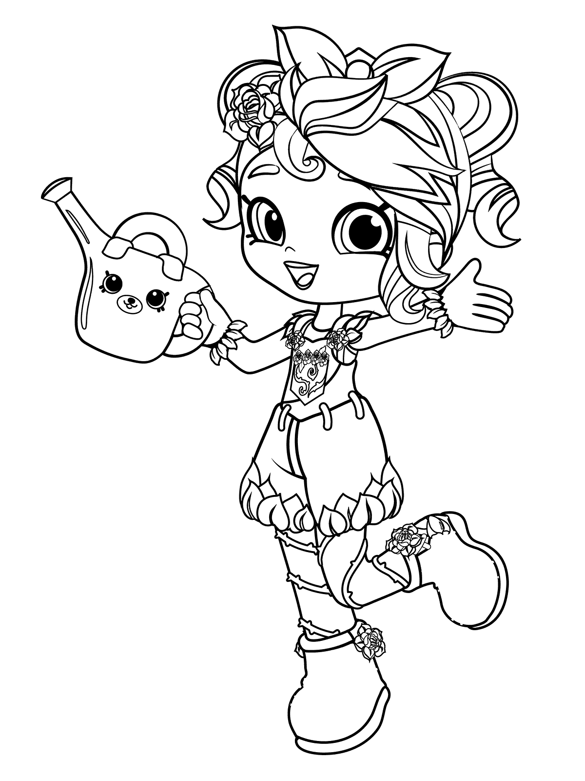 1200x1600 Rosie Bloom Coloring Pages For Girls