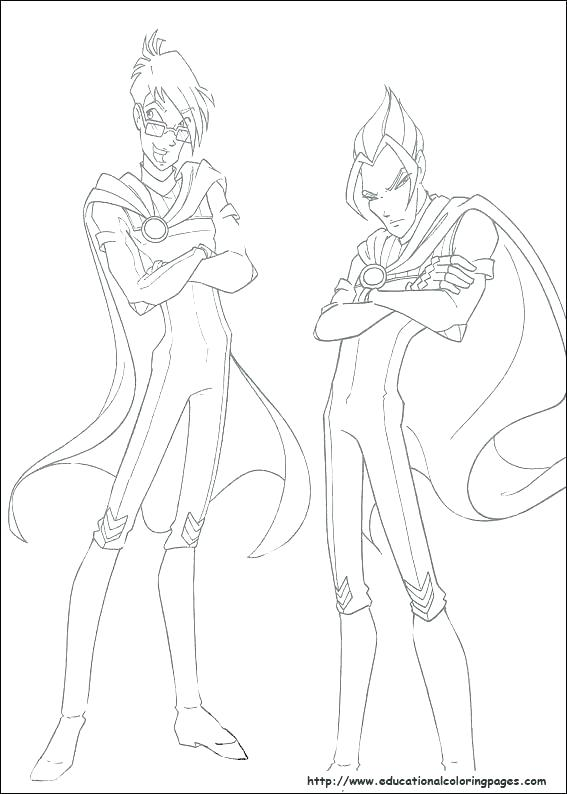 567x794 Winx Club Coloring Pages Club Coloring Page Club Bloom Coloring