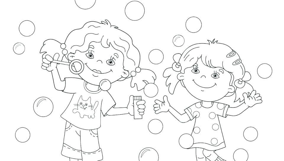 960x544 Washing Hand Bubbles Coloring Pages Coloring Sun Washing Hand