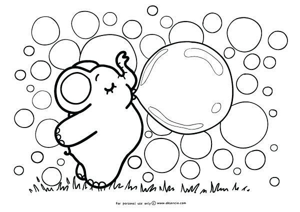 600x424 Bubbles Coloring Page Adorable Blowing Bubbles Coloring Page