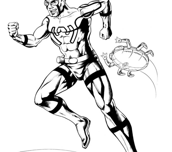 677x600 Blue Beetle Coloring Pages Blue Beetle Coloring Pages