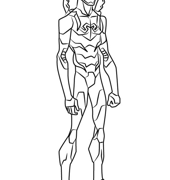 567x600 Blue Beetle Coloring Pages Dc Comics Super Heroes Superheroes
