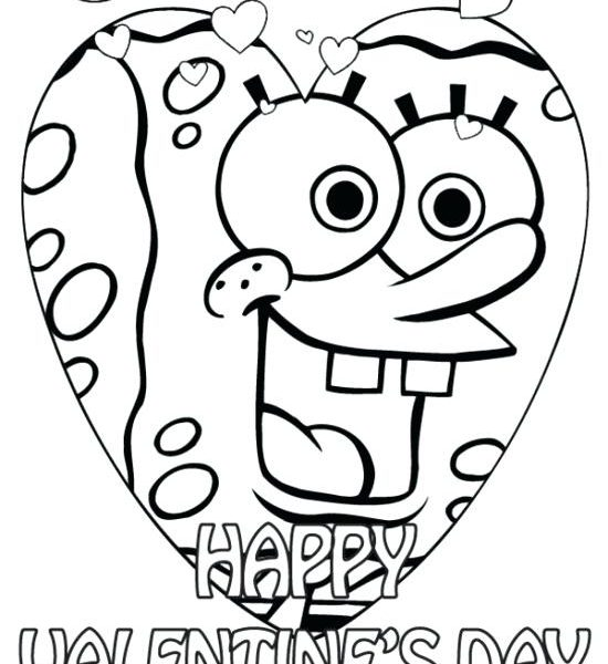 550x600 Printable Valentines To Color Coloring Pages Valentines Color