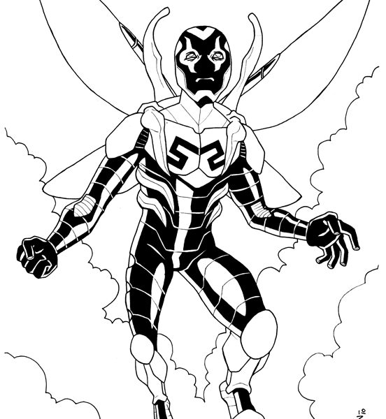552x600 Blue Beetle Coloring Pages Coloring Pages