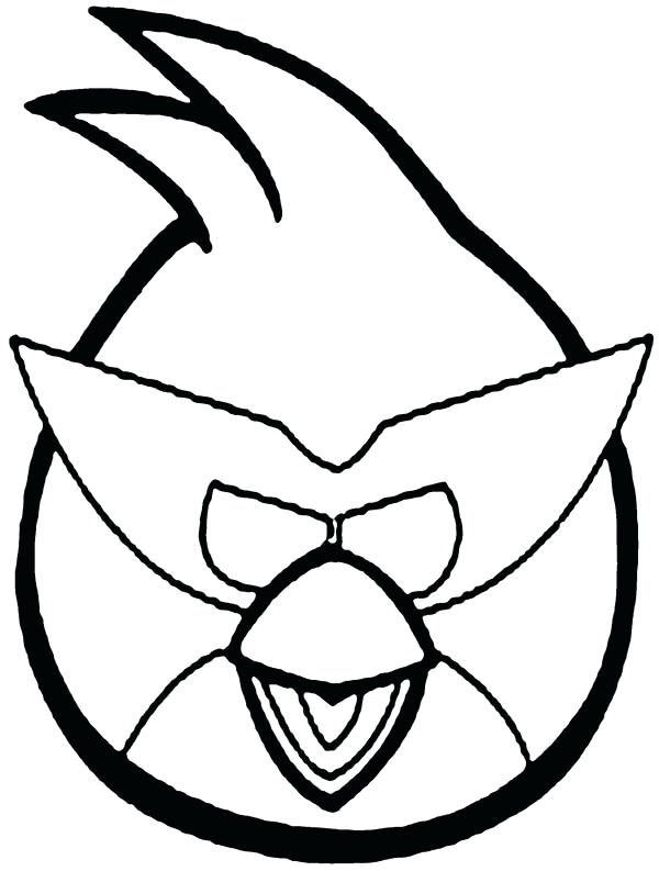 600x793 Angry Bird Space Coloring Pages Angry Bird Space Blue Bird