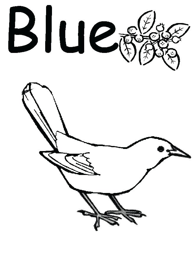 650x900 Blue Coloring Pages For Toddlers Page Things Within Decor