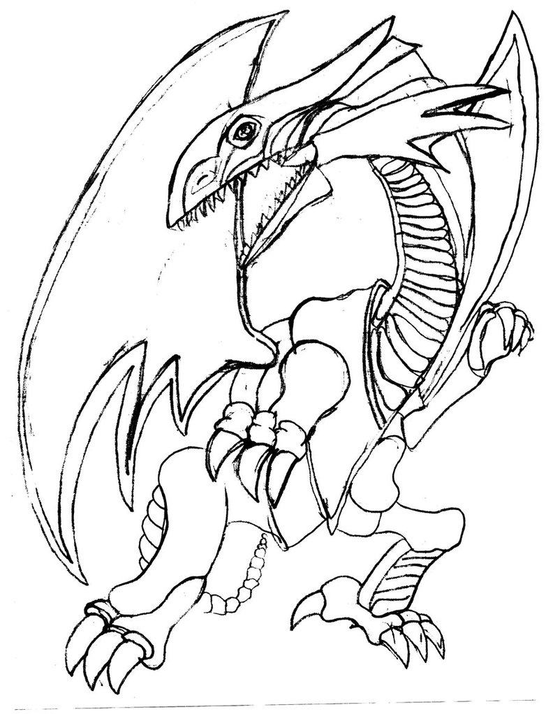 782x1022 Blue Eyes White Dragon Coloring Pages Download Free Coloring Sheets
