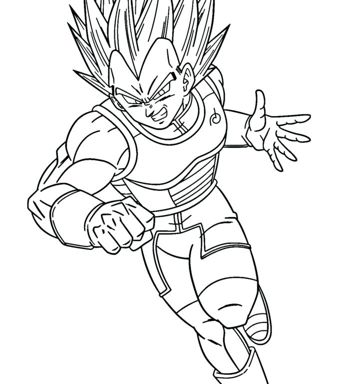 691x768 Coloring Pages From Dragon Ball Z General Super Super Blue