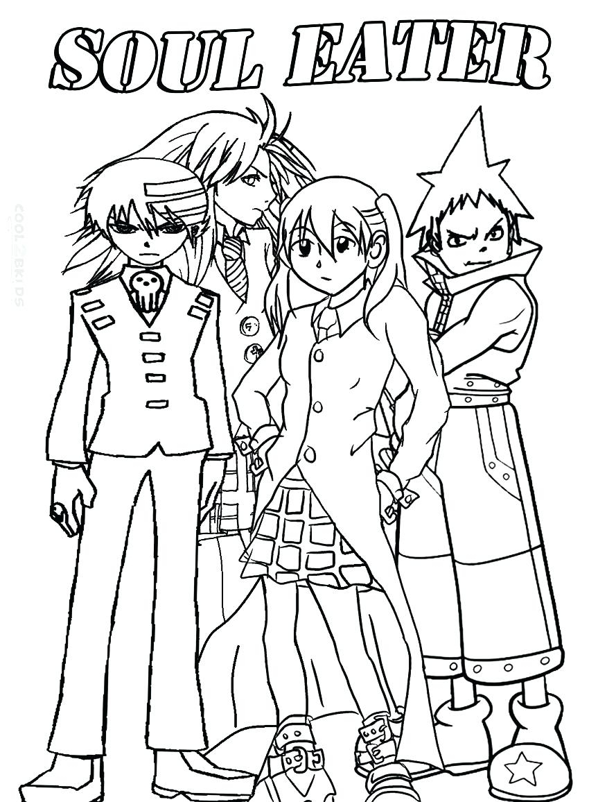 850x1156 Magnificent Soul Eater Coloring Pages Crona Illustration