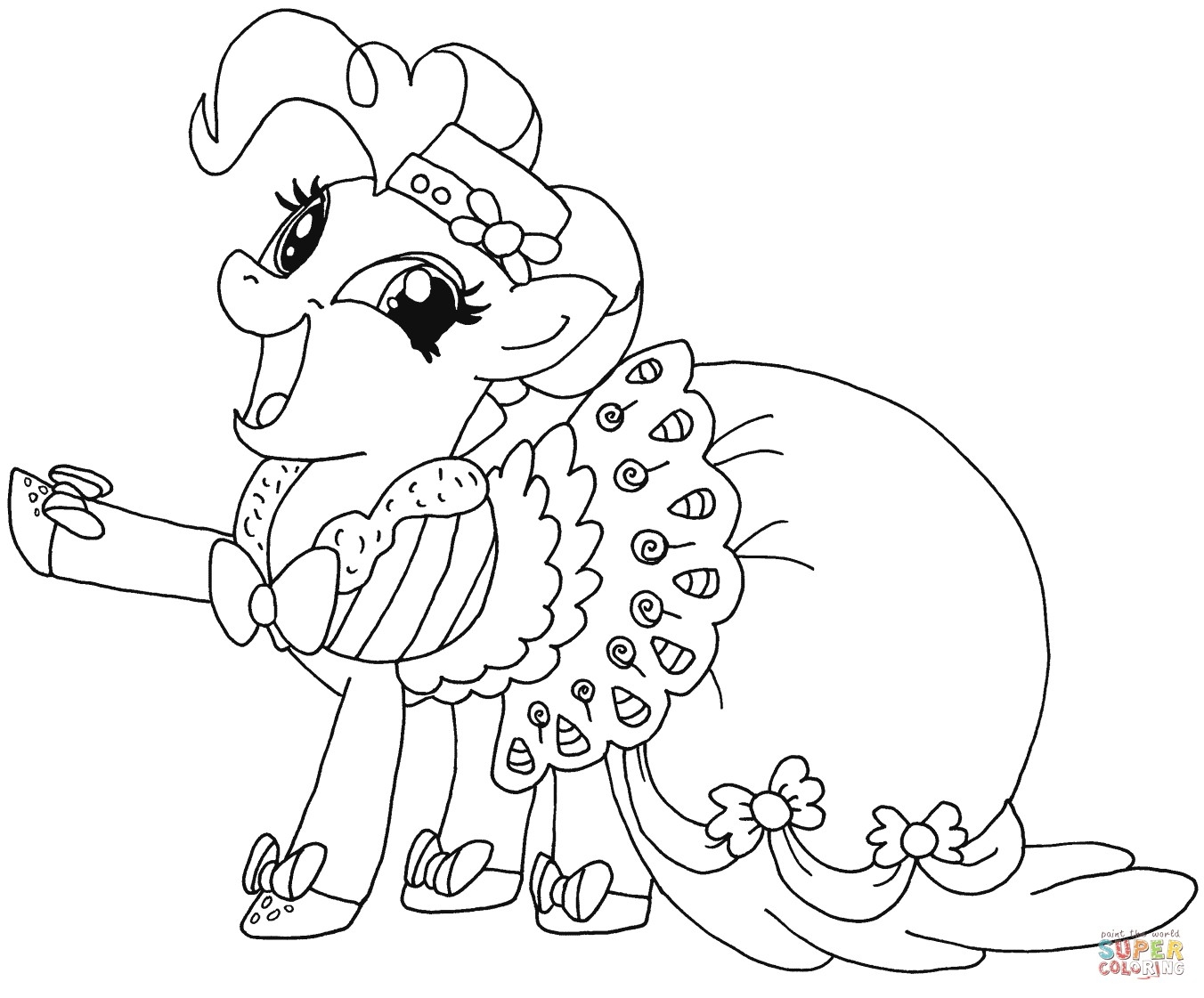 1352x1121 Pinkie Pie My Little Pony Coloring Pages Gallery Coloring