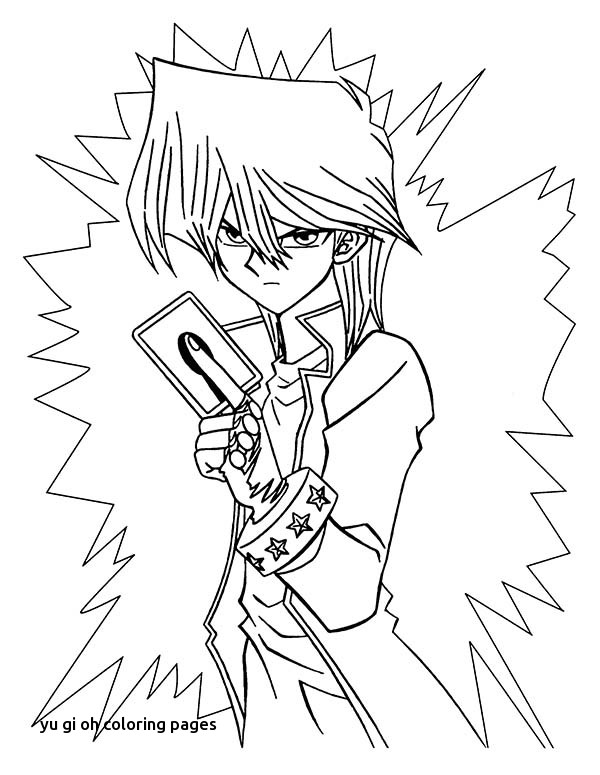 600x775 Yu Gi Oh Coloring Pages
