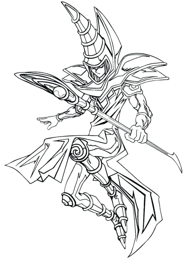600x840 Yugioh Coloring Page Coloring Page Coloring Pages Packed