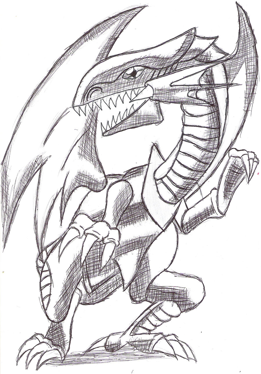 Blue Eyes White Dragon Coloring Pages At Getdrawings Com Free For
