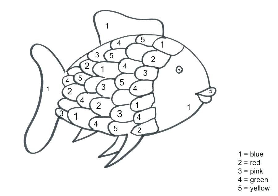 900x636 Fish Coloring Page Fish Color Pages In Addition To Rainbow Fish