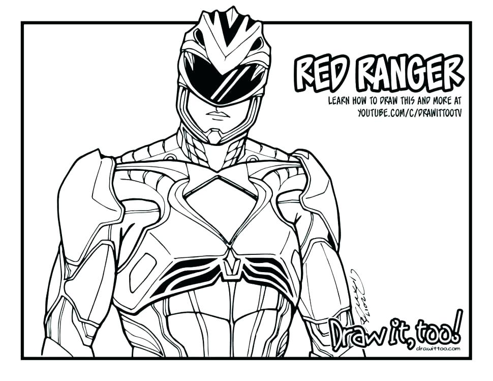 970x749 Power Ranger Coloring Pages Power Ranger Coloring Pages Robot
