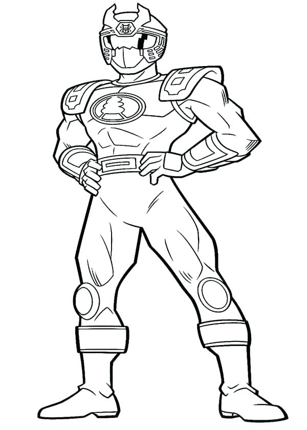 Blue Power Ranger Coloring Pages at GetDrawings.com | Free ...