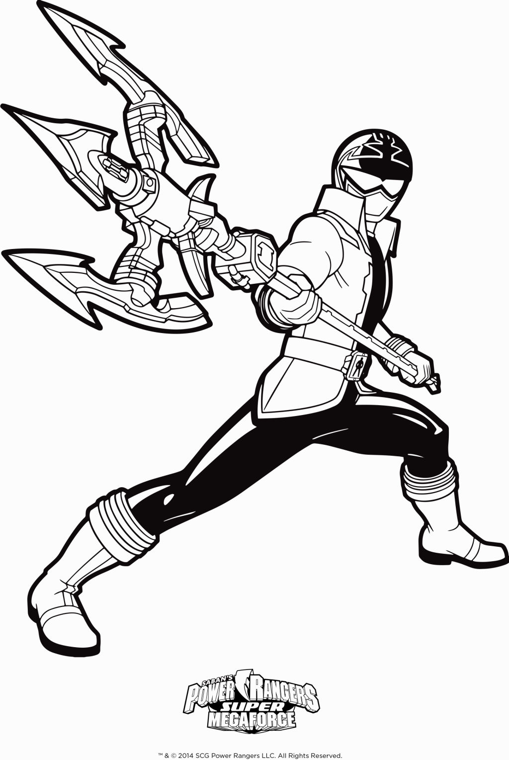 1024x1529 Power Rangers Super Megaforce Coloring Pages Coloring Pages