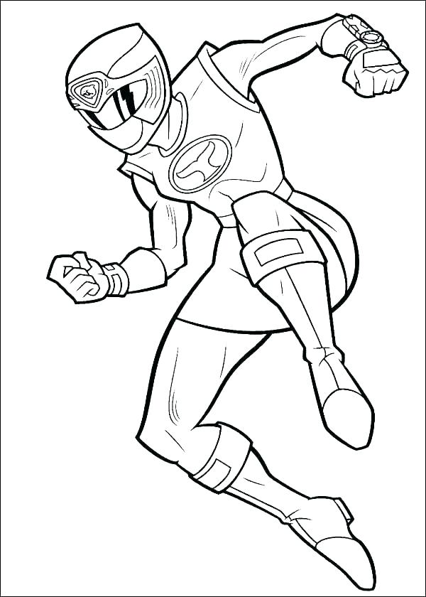 600x840 Power Rangers Coloring Pages To Print