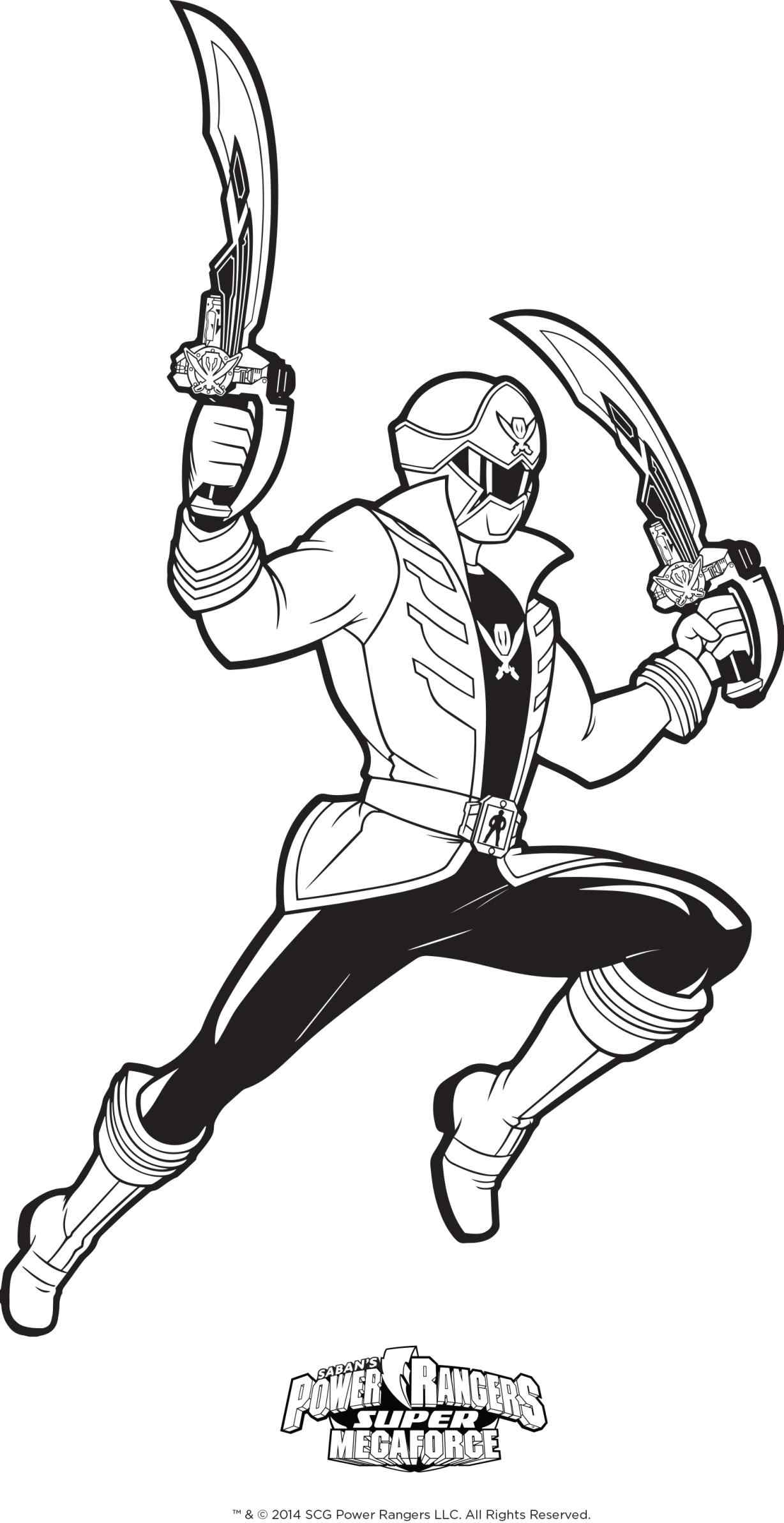1228x2383 Green Mighty Morphin Power Rangers Coloring Pages Online
