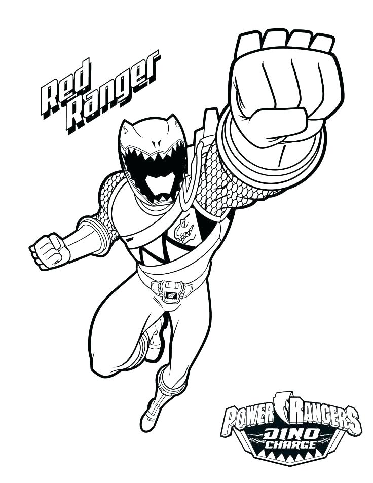 Blue Power Ranger Coloring Pages At Getdrawings Com Free