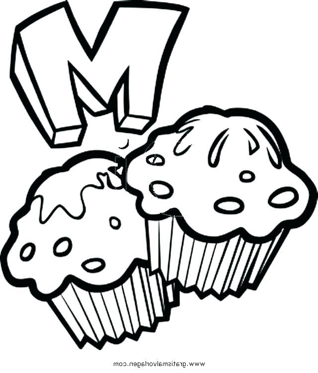 640x750 Coloring Page Muffin Coloring Page Muffin Blueberry Muffin
