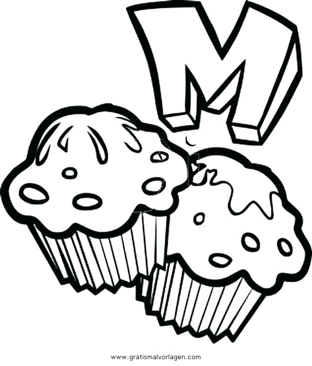 640x750 Muffin Coloring Page Good Blueberry Muffin Coloring Pages To Print