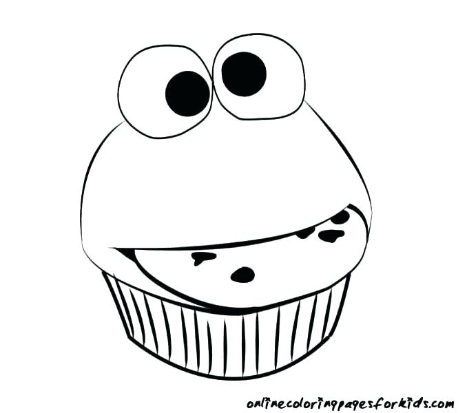 678x600 Muffin Coloring Pages Cute Cupcake Coloring Pages Muffin Coloring