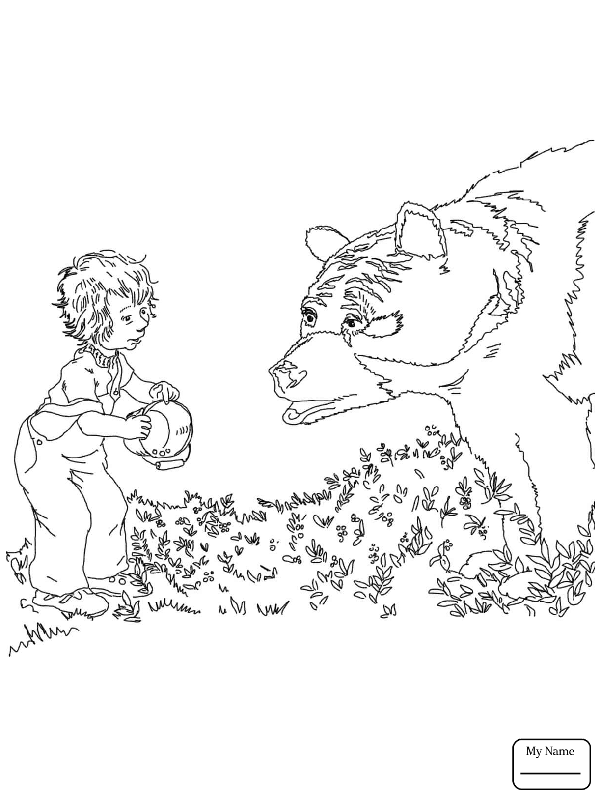 1224x1632 Blueberries For Sal Coloring Pages Printable Coloring For Kids