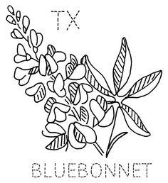 236x258 Bluebonnet Step Pixels Embroidery