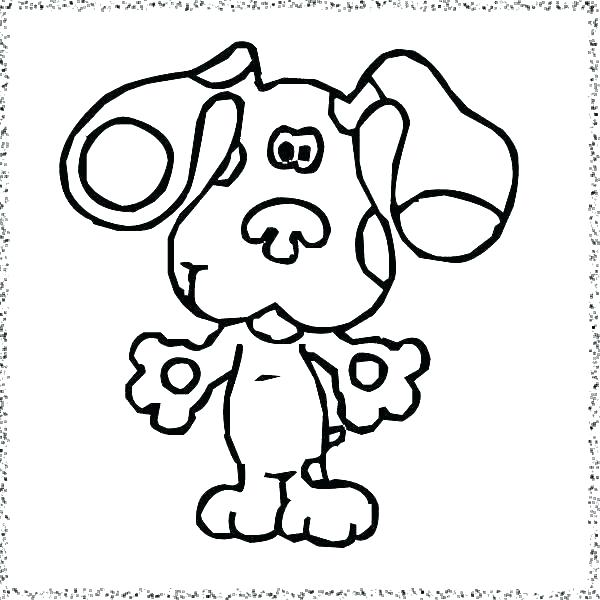 Blues Clues Coloring Pages at GetDrawings.com | Free for ...
