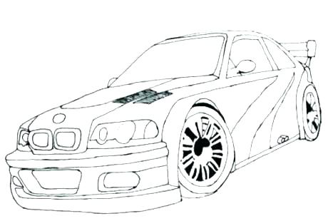 460x310 Sports Car Coloring Pages Car Coloring Page Sport Sports Car