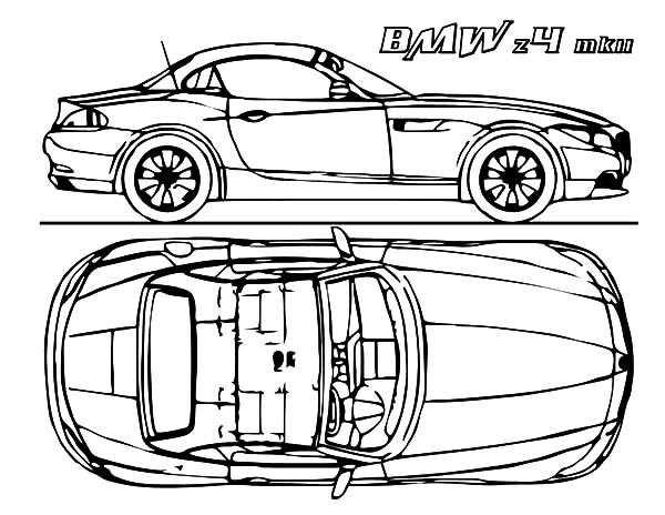600x464 Bmw Car Concept Coloring Pages Best Place To Color