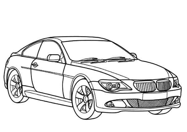 Bmw M3 Coloring Pages At Getdrawings Com