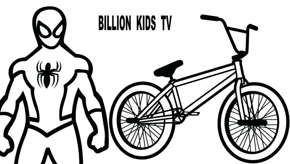 960x544 Bmx Coloring Pages Bike Coloring Page Hot Racing Free Bmx Bike