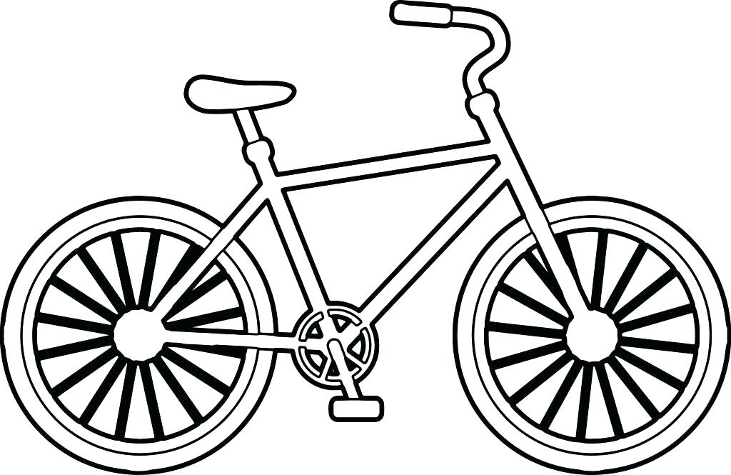 1024x665 Bmx Coloring Pages Bike Coloring Pages Bike Coloring Pages Simple