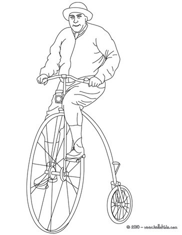 364x470 Bmx Bike Coloring Pages
